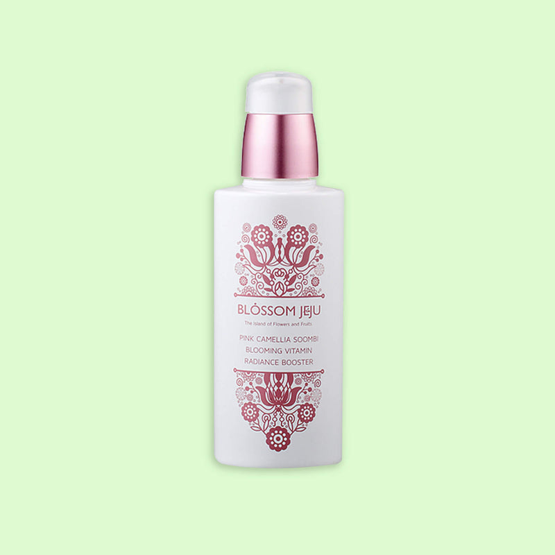 Blossom Jeju Pink Camellia Soombi Blooming Vitamin Radiance Booster - K Beauty World