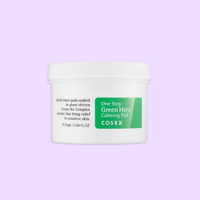 Cosrx One Step Green Hero Calming Pad - K Beauty World