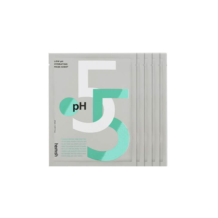 Heimish Low pH Hydrating Mask Sheet (5 Pack) - K Beauty World
