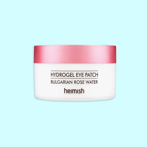 Heimish Bulgarian Rose Water Hydrogel Eye Patch - K Beauty World