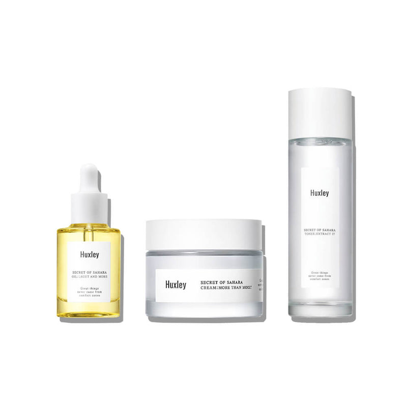 Huxley Extra Moisture Routine Set - K Beauty World