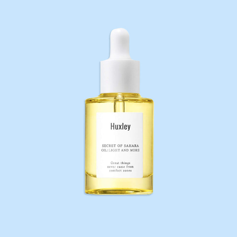 Huxley Secret of Sahara Oil Light and More - K Beauty World