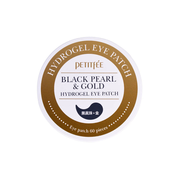 Petitfee Black Pearl & Gold Hydrogel Eye Patch - K Beauty World