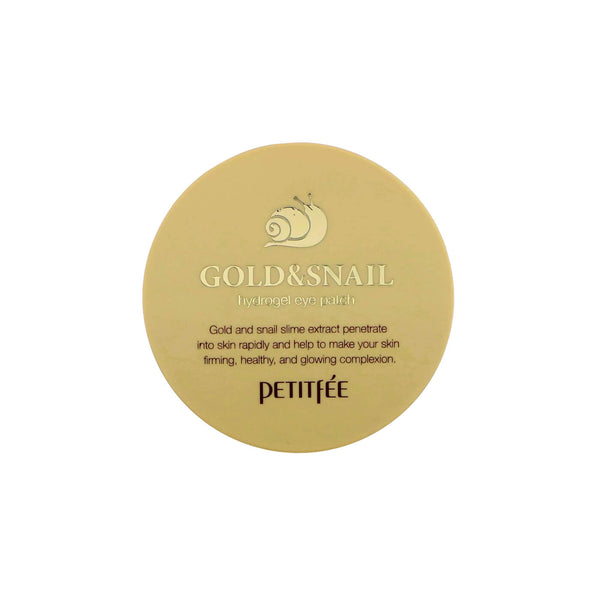 Petitfee Gold & Snail Eye patch - K Beauty World