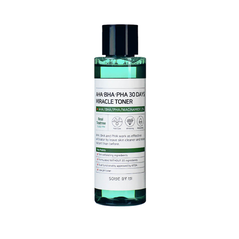 Some By Mi AHA BHA PHA 30 Days Miracle Toner - K Beauty World