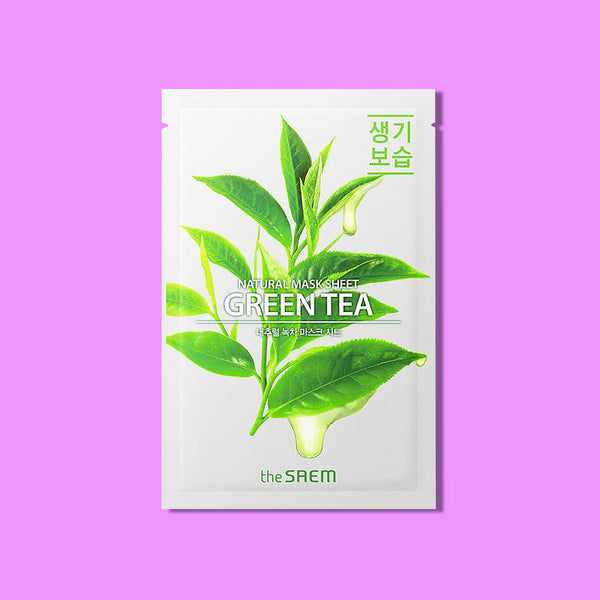 The Saem Natural Green Tea Mask Sheet - K Beauty World