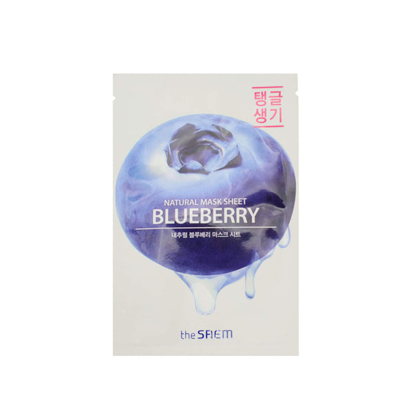 The SAEM Natural Blueberry Mask Sheet - K Beauty World