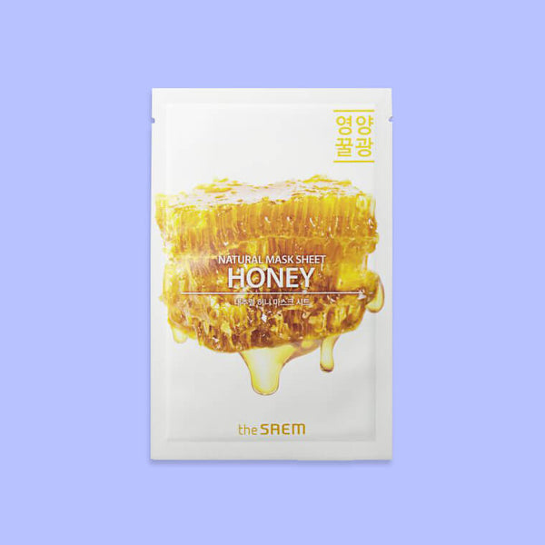 The SAEM Natural Honey Mask Sheet - K Beauty World