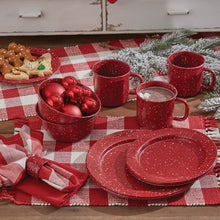 Load image into Gallery viewer, Granite Red Enamelware Collection - Vintage Crossroads