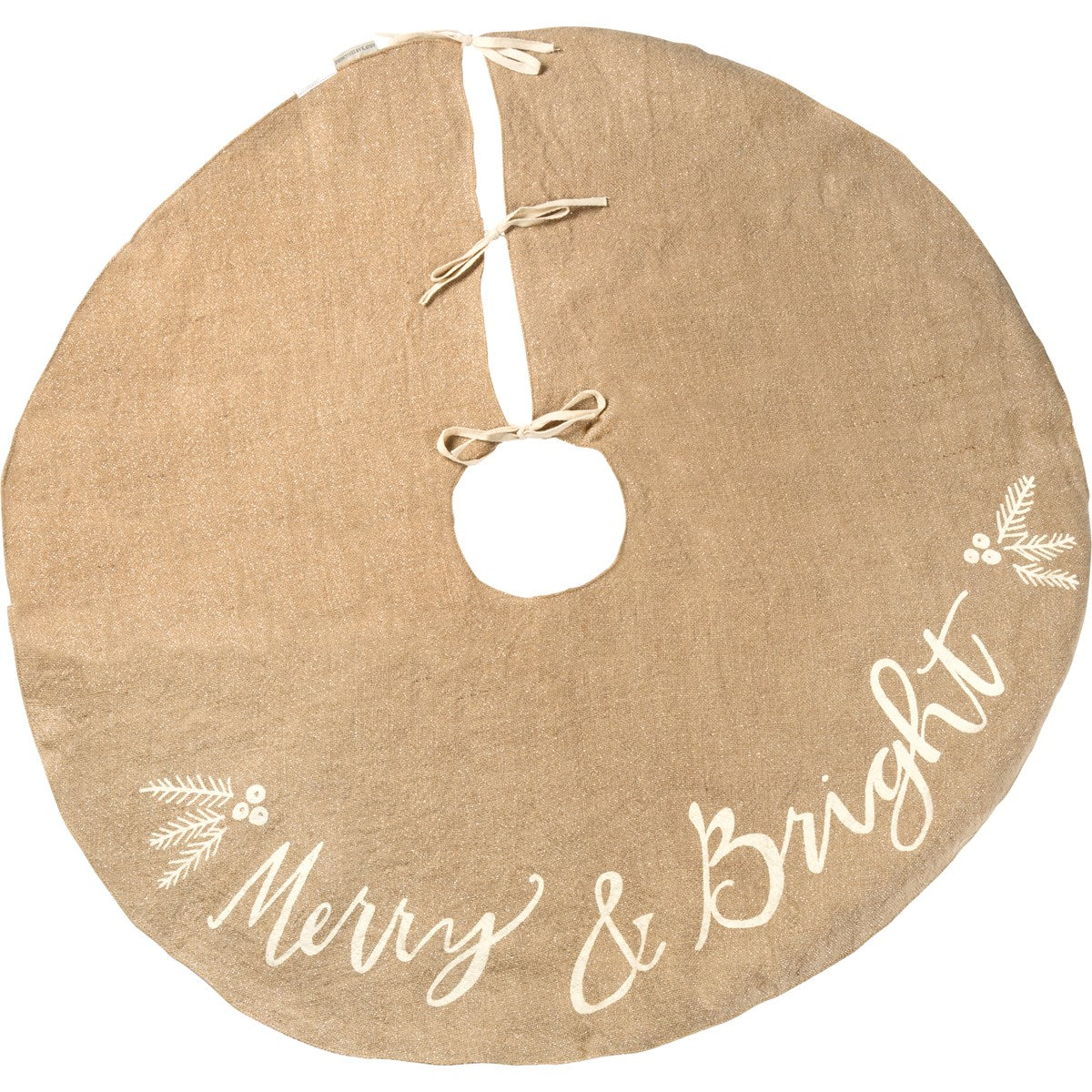 Merry And Bright Tree Skirt - Vintage Crossroads