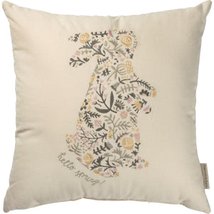 Floral Bunny Pillow - Vintage Crossroads