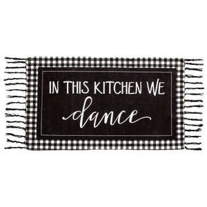 In This Kitchen We Dance Rug - Vintage Crossroads