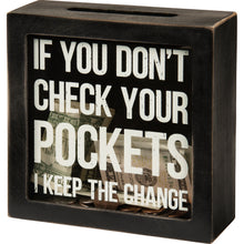 Load image into Gallery viewer, I Keep The Change Bank - Vintage Crossroads