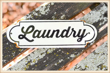 Load image into Gallery viewer, Laundry Plaque - Vintage Crossroads