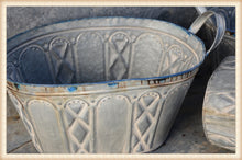Load image into Gallery viewer, Ornate Oval Bucket - Vintage Crossroads