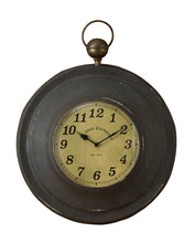 Load image into Gallery viewer, Pocket Watch Wall Clock - Vintage Crossroads