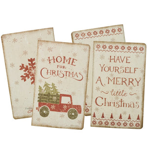 Christmas Notebook - Vintage Crossroads