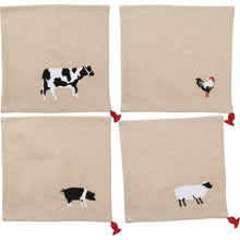 Load image into Gallery viewer, Farm Animals Cocktail Napkins - Vintage Crossroads