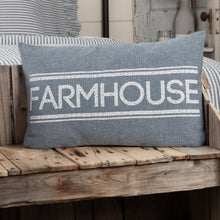 Load image into Gallery viewer, Sawyer Mill Farmhouse Pillow - Vintage Crossroads