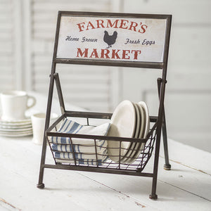 Farmer's Market Display Basket - Vintage Crossroads