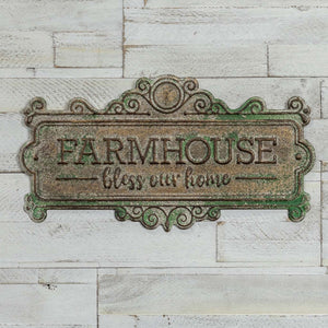 Metal Farmhouse Sign - Vintage Crossroads