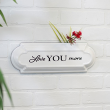 Load image into Gallery viewer, Metal Love You More Sign - Vintage Crossroads