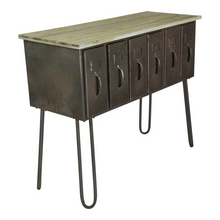 Load image into Gallery viewer, Multi Drawer Table - Vintage Crossroads