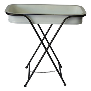 Metal Tray Tables - Vintage Crossroads
