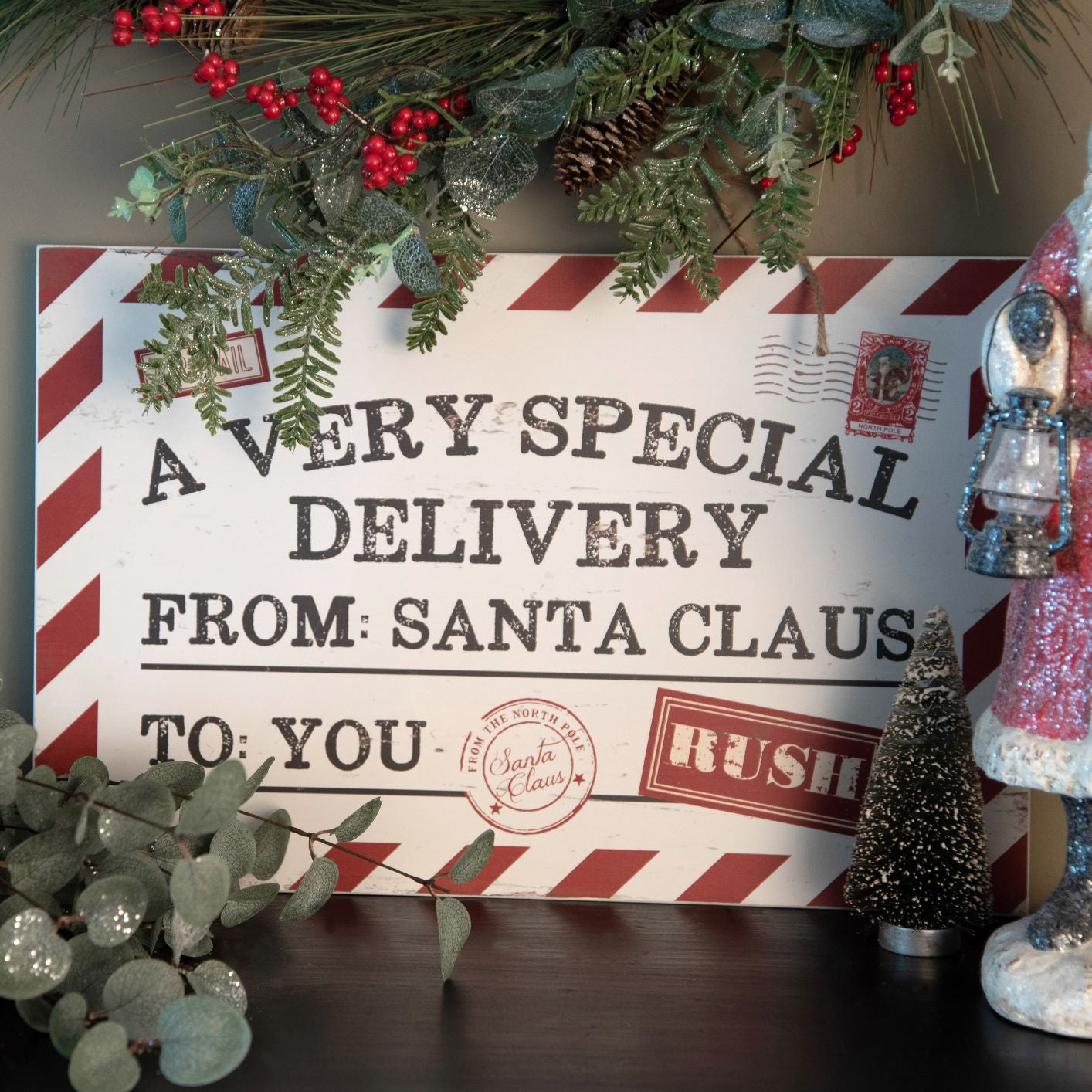 Christmas Special Delivery Sign - Vintage Crossroads