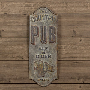 The Country Pub Sign - Vintage Crossroads