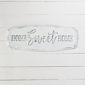 Home Sweet Home Sign - Vintage Crossroads