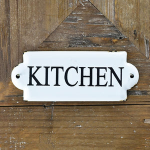 Mini Tin Kitchen Sign - Vintage Crossroads
