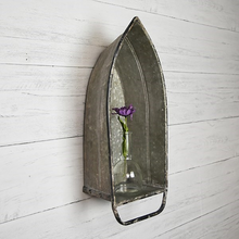 Load image into Gallery viewer, Tin Boat Shelf - Vintage Crossroads