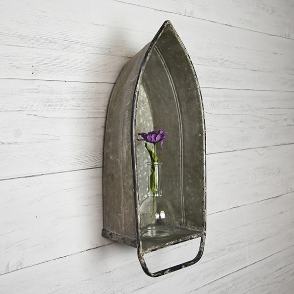 Tin Boat Shelf - Vintage Crossroads