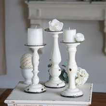 Load image into Gallery viewer, Metal Candle Holders - Vintage Crossroads