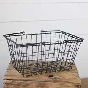 Shopping Basket - Vintage Crossroads