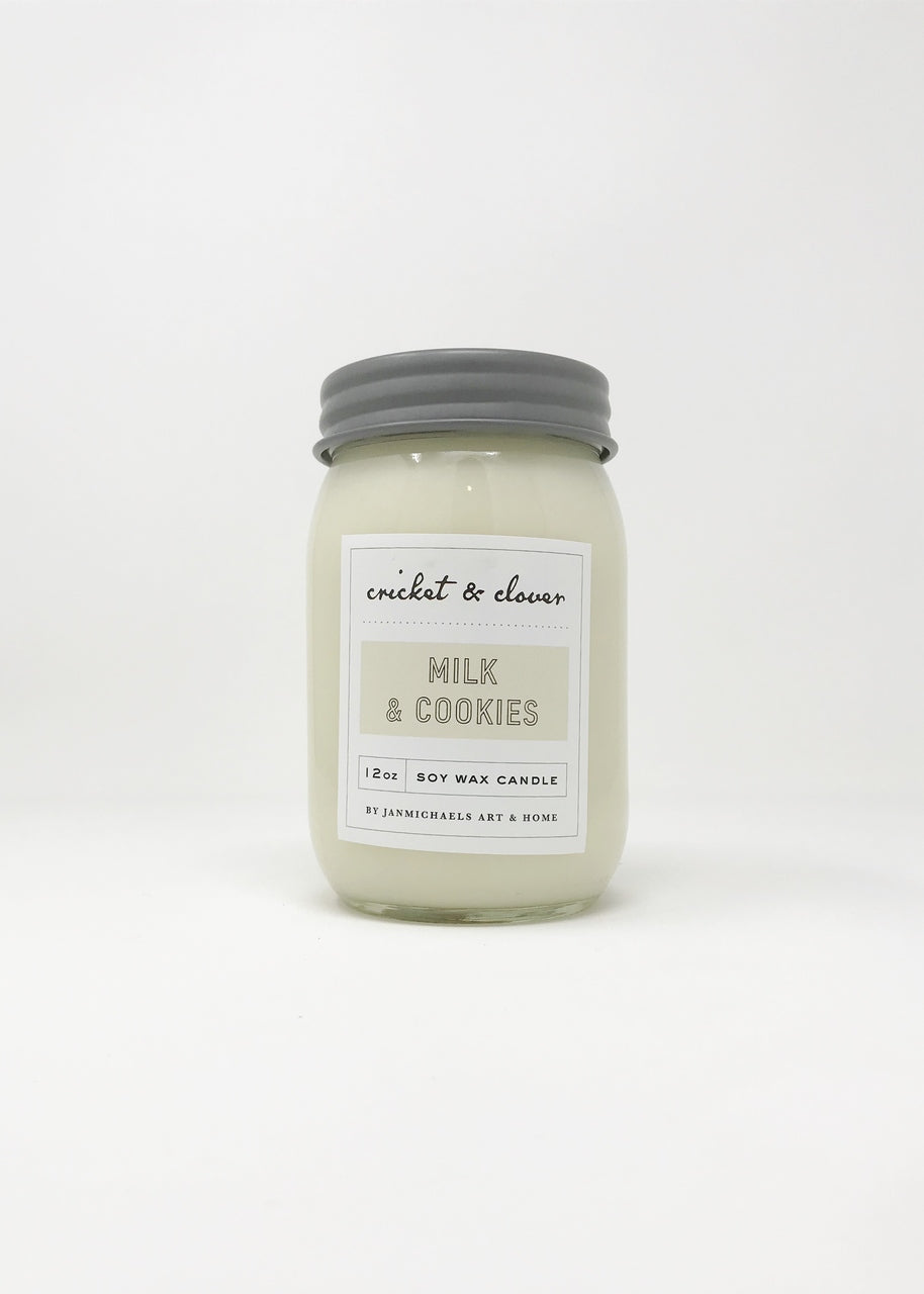 Milk And Cookies Soy Candle - Vintage Crossroads