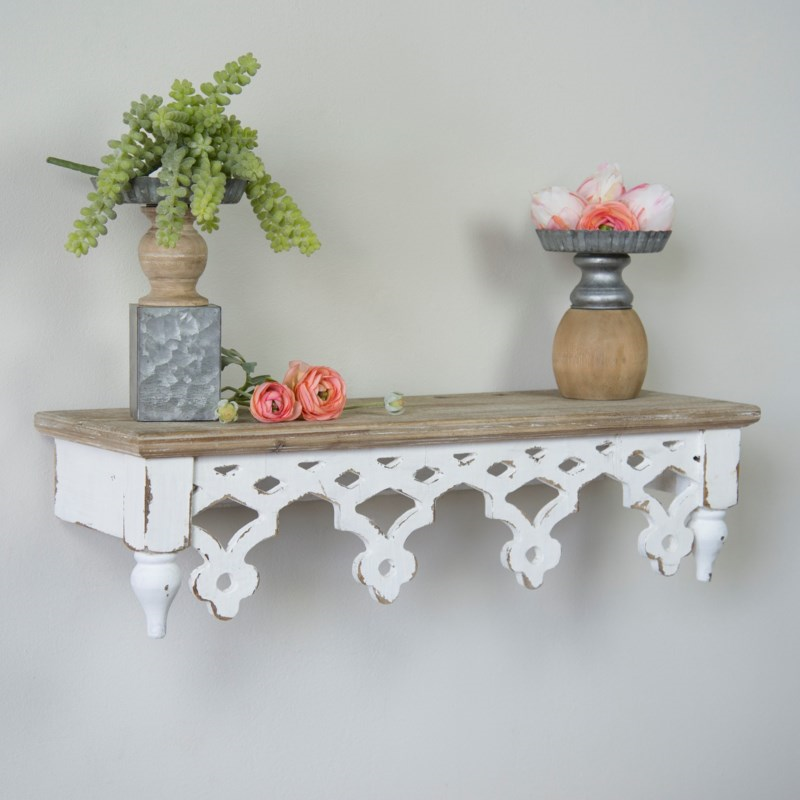 Cottage Wall Shelf - Vintage Crossroads