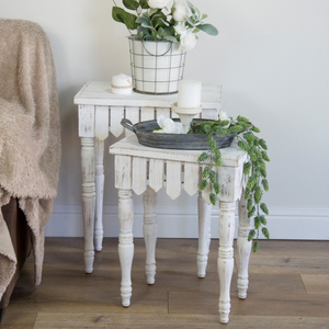 Picket Accent Tables - Vintage Crossroads