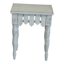 Load image into Gallery viewer, Picket Accent Tables - Vintage Crossroads