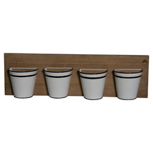 Load image into Gallery viewer, Mini Metal Buckets Planter - Vintage Crossroads