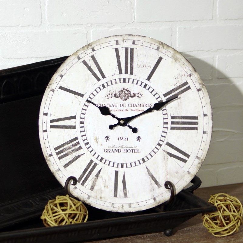 French Inspired Clock - Vintage Crossroads