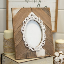 Load image into Gallery viewer, Wood Ornate Picture Frame - Vintage Crossroads