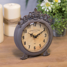 Load image into Gallery viewer, Antique Style Table Clock - Vintage Crossroads