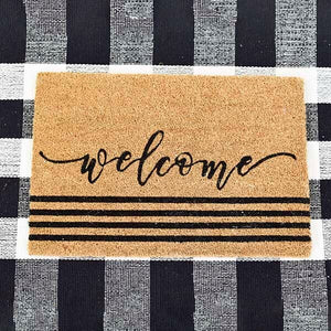Welcome Door Mat - Vintage Crossroads