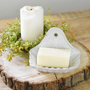 Ceramic Wall Soap Dish - Vintage Crossroads