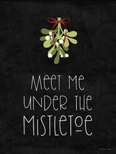 Load image into Gallery viewer, Mistletoe Sign - Vintage Crossroads