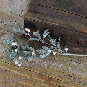 White Mistletoe Pick - Vintage Crossroads