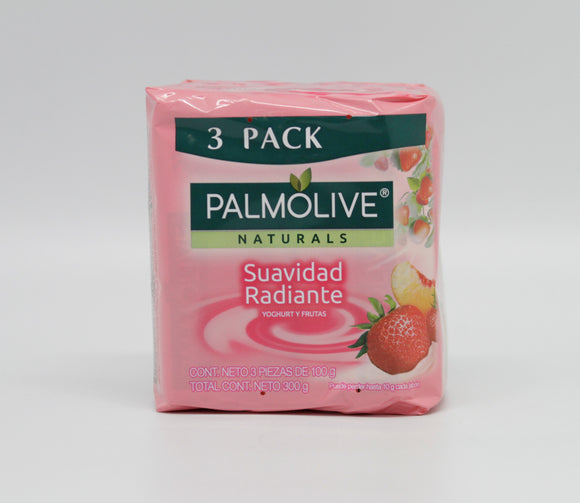 Palmolive Naturals Bar Soap Yoghurt & Fruits 100G/3.5OZ 3pk