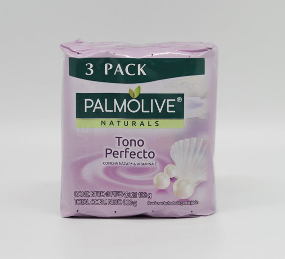 Palmolive Naturals Bar Soap Perfect Tone 100G/3.5OZ 3pk